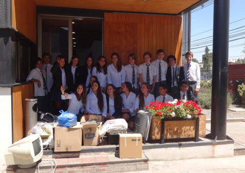 Visita campaña solidaria The Grange School