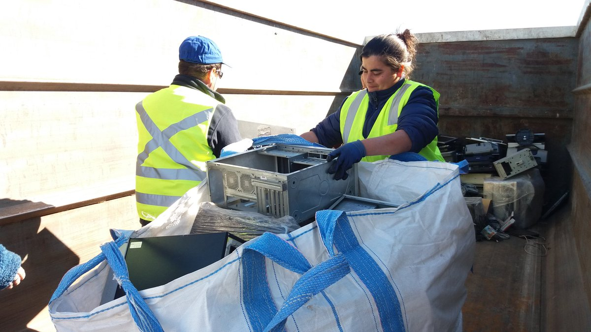 First electronic recycling campaign in Constitución